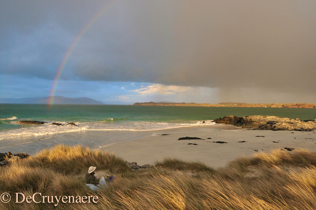 Iona Rainbow after the storm