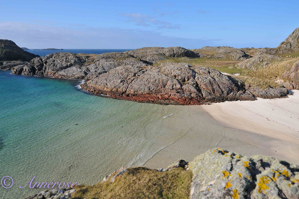 Bucht in Iona