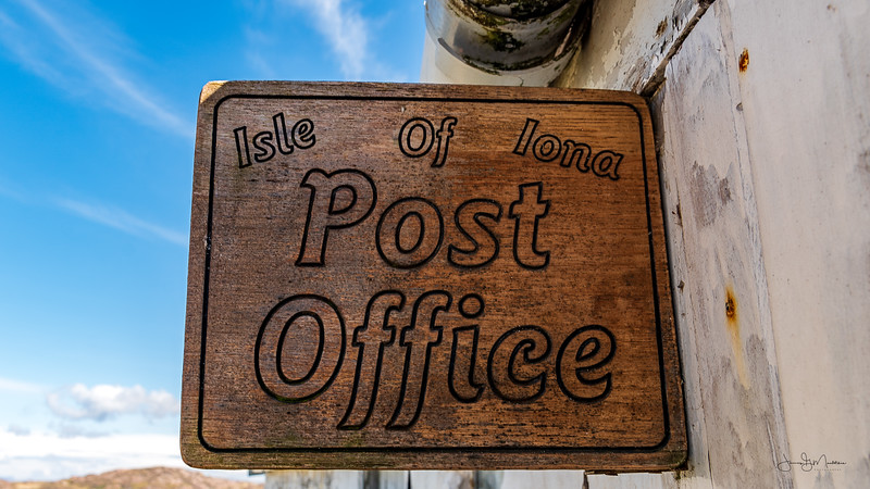 Isle of Iona Post Office