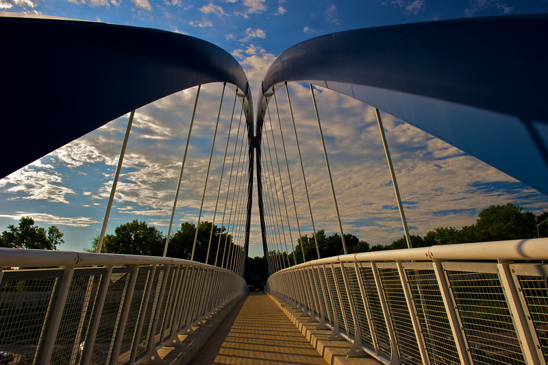 Des Moines Walking Bridge