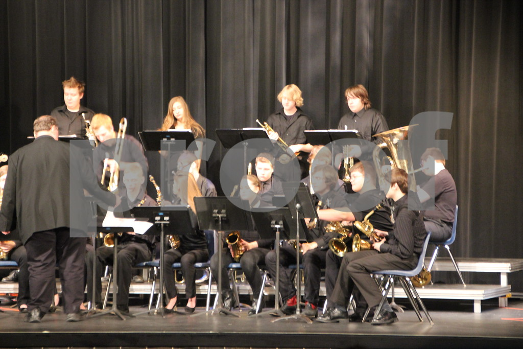 On Friday, January 15, 2016 , Iowa Central Community College was the place to be for those who enjoy jazz competitions. The Iowa Central Community College in Fort Dodge held the Triton Jazz Festival in which high school bands from across Iowa competed. Pictured here is: the Fort Dodge 2 Class 4 a.