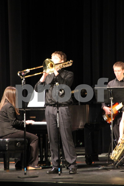 On Friday, January 15, 2016 , Iowa Central Community College was the place to be for those who enjoy jazz competitions. The Iowa Central Community College in Fort Dodge held the Triton Jazz Festival in which high school bands from across Iowa competed. Pictured here is: the Fort Dodge 1 Class 4 a.