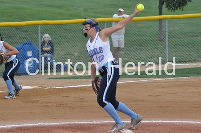 Iowa City Regina at Northeast softball (7-1-15)