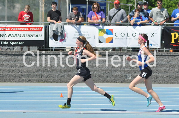 Iowa Class 1A state track Thursday 5-21-15