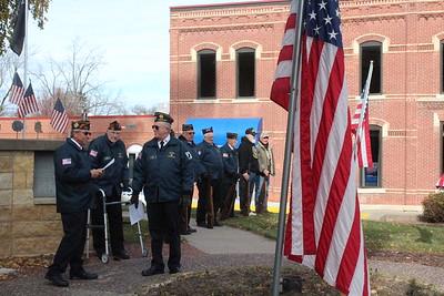 Iowa County Courthouse Veterans Day Program 11-10-2017