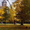 Indian Summer at Iowa State  University Campus