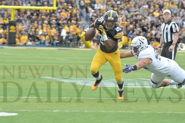 Iowa Football vs. Northwestern 10-1