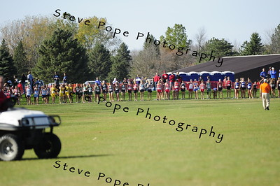 2010 1A Cross Country Action