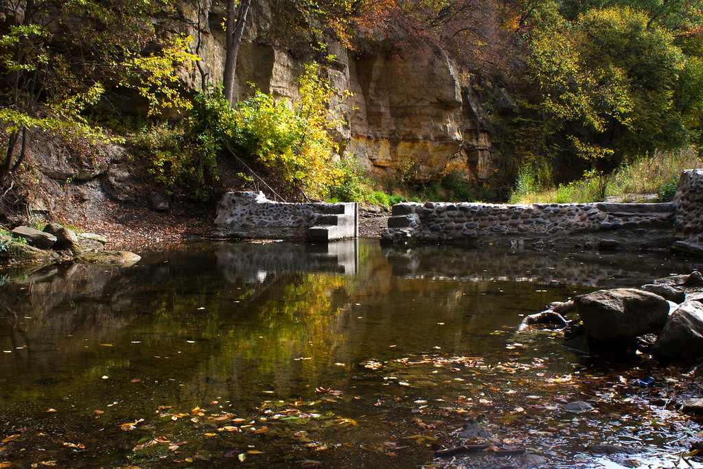 Fall Colors Light Up Dolliver State Park's Prairie Creek