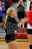 Waterloo Christian at Riceville Varsity Volleyball action sports photo (742)