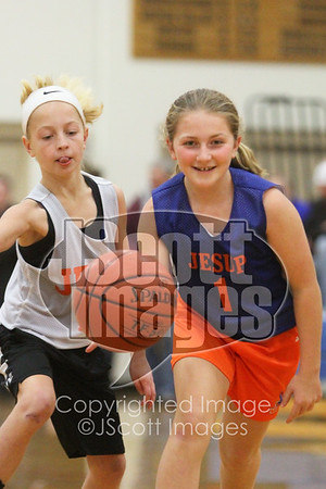 2017-12-12 Pee Wee Girls Basketball at Jesup