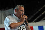 Mike Liddy, of Omaha, Neb., participates in the Harmonica Contest at Pioneer Hall during the Iowa State Fair on Aug. 16. (Iowa State Fair/ Steve Pope Photography)