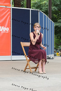 Brielle Lang, 17, of Brooklyn, performs a vocal solo in the Bill Riley Talent Search at the Iowa State Fair on Aug. 8. (Iowa State Fair/ Steve Pope Photography)