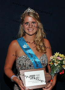 Megan Anderson, 18, of Dike, earned First Runner-up during the Queen Coronation Ceremony on the Anne and Bill Riley Stage at the Iowa State Fair on Aug. 9. (Iowa State Fair/ Steve Pope Photography)