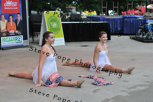 during the Bill Riley Talent Search at the Iowa State Fair on Aug. 7. (Iowa State Fair/ Steve Pope Photography)