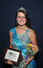 Monroe County Fair Queen Sarah Clark, 18, of Albia, was named Third Runner-up  during the Iowa State Fair Queen Coronation Ceremony on Aug. 15.  (Iowa State Fair/ Steve Pope Photography)