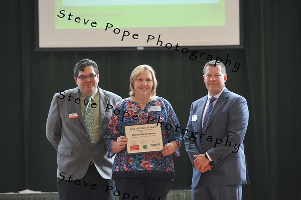Cheryl Blankespoor, of Lyon County, was inducted in the 2017 Iowa 4-H Hall of Fame at the Iowa State Fair on Aug. 20. (Iowa State Fair/ Steve Pope Photography)