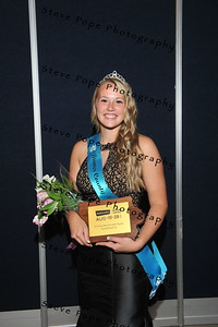 Bremer County Fair Queen Sydney Hansen, 17, of Plainfield, was named Second Runner-up during the 2017 Iowa State Fair Queen Coronation Ceremony on Aug. 12. (Iowa State Fair/ Steve Pope Photography)