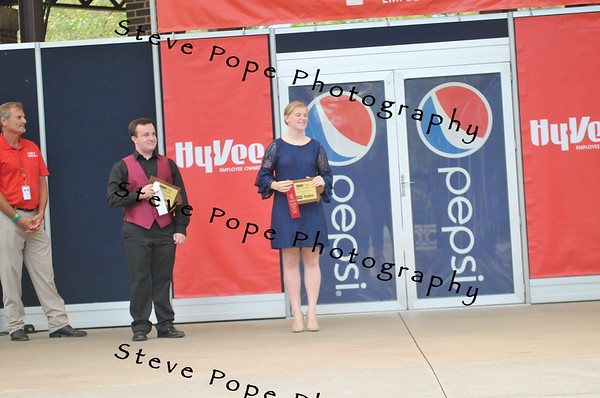 Libby Peterson, 20, of Cherokee, earned second place in the Bill Riley Talent Search Finals at the Iowa State Fair on Aug. 20 with her musical theater solo. (Iowa State Fair/ Steve Pope Photography)