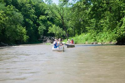 2008 Upper Iowa Canoe Trip