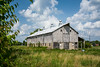 An old barn in the Amana Colonies, Iowa, USA.