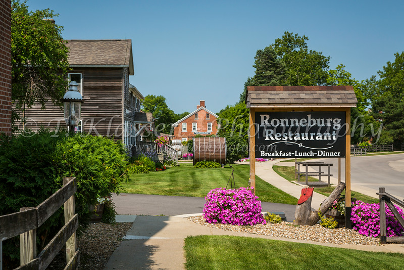 The Ronneburg Restaurant in the Amana Colonies, Iowa, USA.