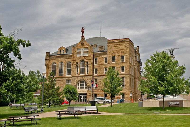 Wapello County Courthouse is located in Ottumwa, Iowa