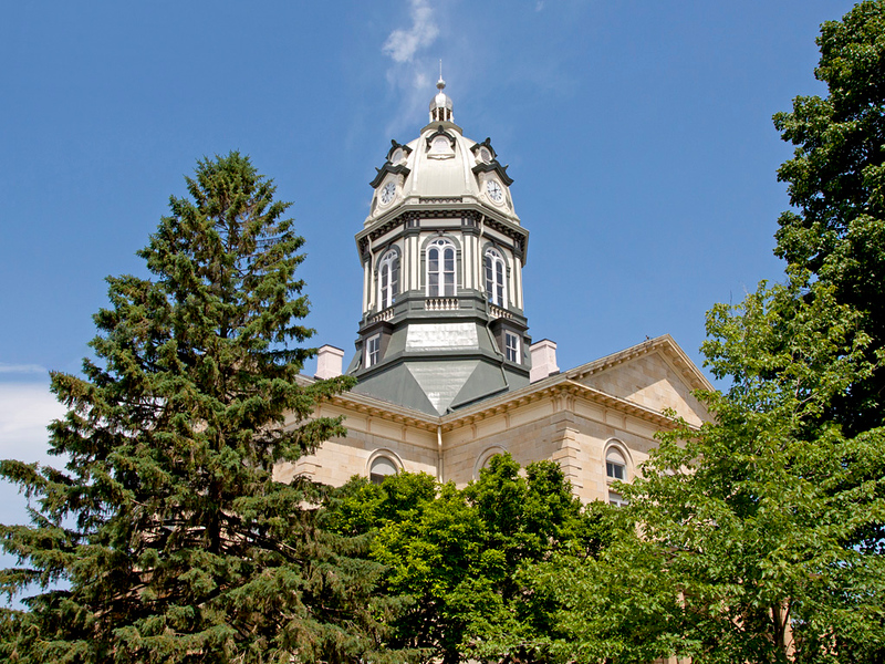 Madison County Courthouse view 2. Located in Winterset, IA