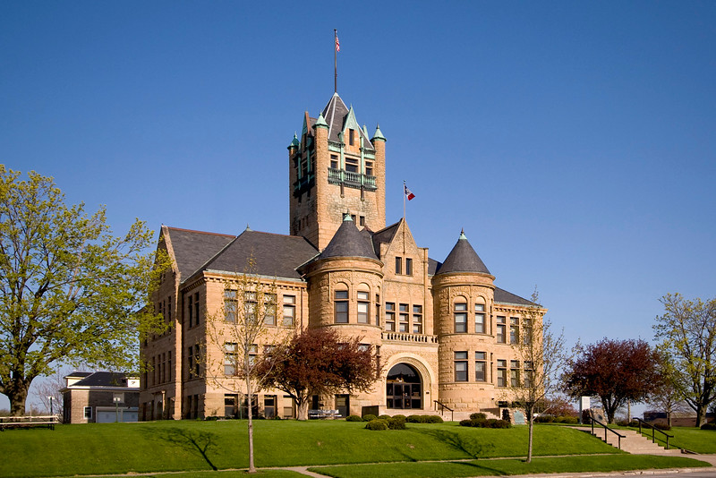 Johnson County Court House.
