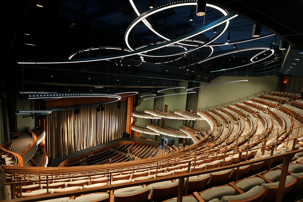 New Hancher 1800 seat auditorium