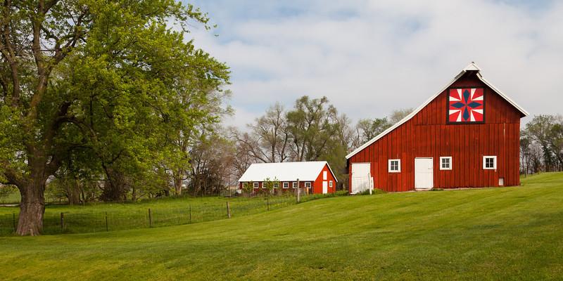 One of the many barns outside Gilbert along Washignton Carver Ave. Gilbert, IA<br /> <br /> IA-120504-0038