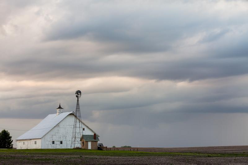 Storm over the Farmland