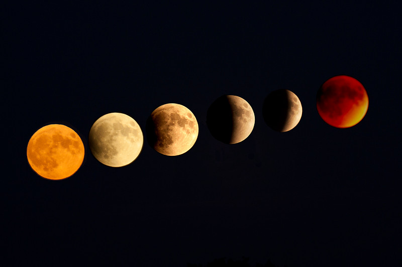 Harvest Moon in Eclipse.