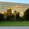 Capitol reflected, Des Moines