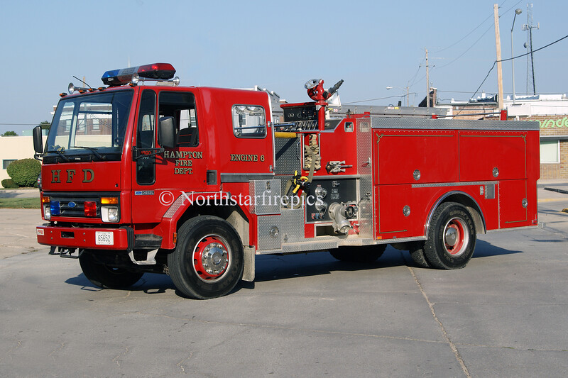 Hampton E-6 161  1989 Ford C 8000/Smeal 1000/1000