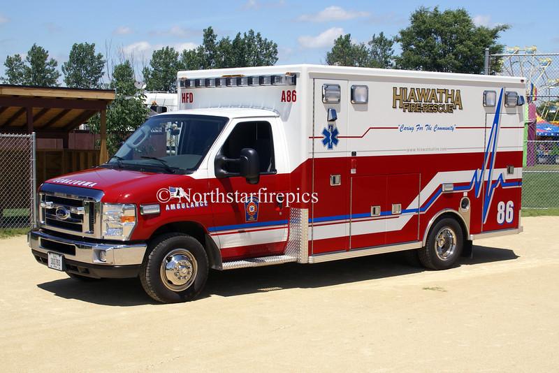 Hiawatha M-86<br /> 2008 Ford E450/Life Line