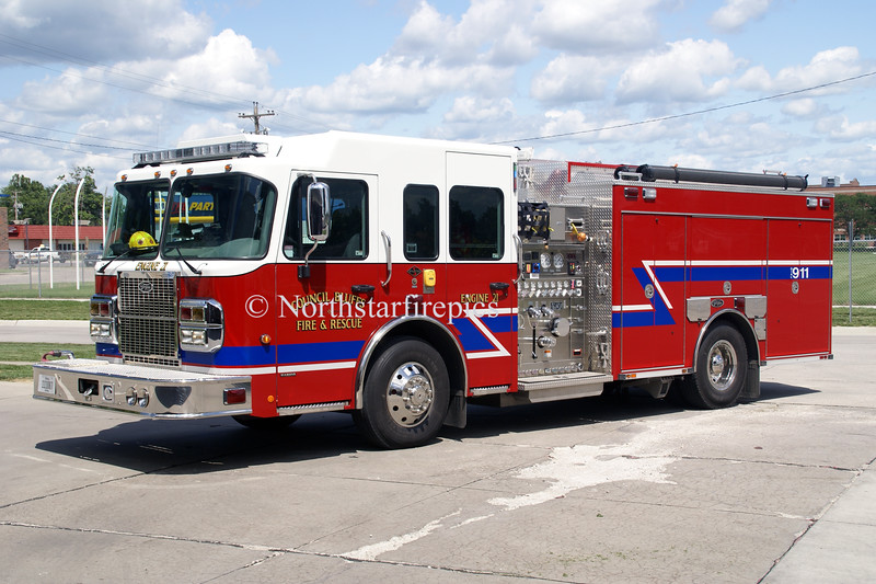 Council Bluffs E-21<br /> 2008 Spartan Diamond/Toyne  1500/750/40A/40B