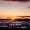 Sunset on Ada hayden lake