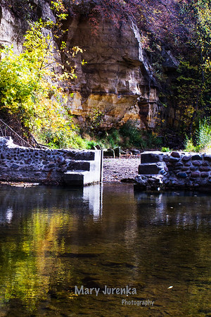 Dolliver State Park is a gem in Webster County.  I took this photo in early Fall 2013.