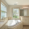 Master bath with tub