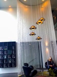 Copenhagen, Denmark, Modern Tourist Hotel, Lobby, Wakeup Copenhagen