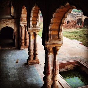 Ruins of The Palace of Mirrors, Haryana India