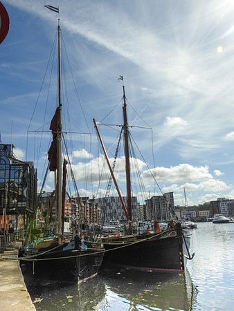 Boats Around The Quays