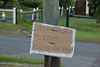 Residents not affected by flood waters offered shelter to people who had nowhere to stay, this sign was on a lightpost on the corner of William St & Alice St Goodna - 13 Jan 2011
