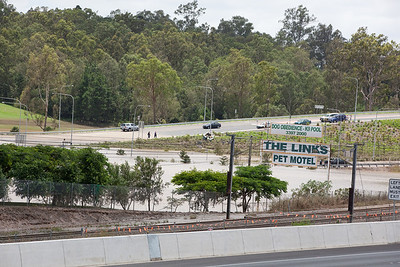 The Links Pet Motel, Brisbane Tce Goodna as seen across the Ipswich Motorway from Brisbane Rd Gailes - 13 Jan 2011