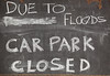 Ipswich Health Plaza, Bell St, carpark closed due to floods - 12 Jan 2011