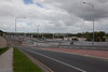 Brisbane Rd Gailes, looking out across the Ipswich Motorway where a flooded Woogaroo Creek joins the swollen Brisbane River towards Goodna - 13 Jan 2011