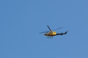 An emergency helicopter over Ipswich 12 Jan 2011
