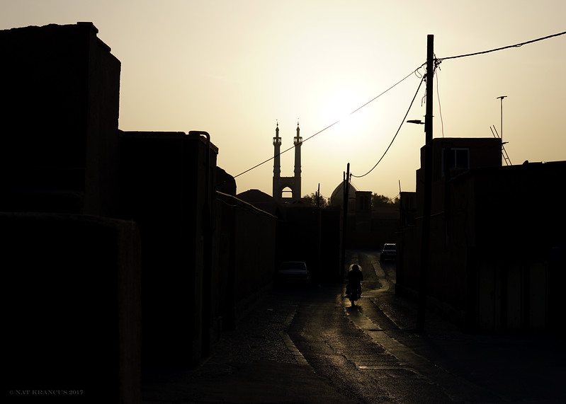 Morning in Yazd, Iran, 2016