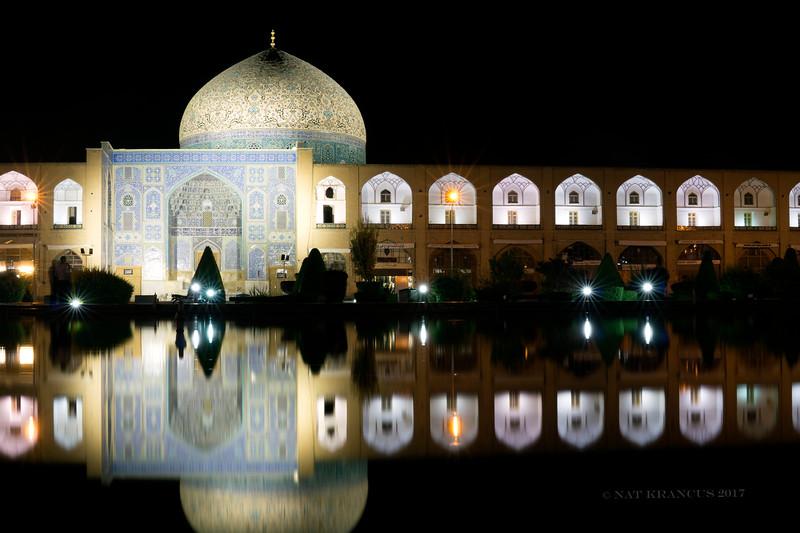 Sheikh Lotfollah Mosque and Naqsh-i Jahan Square. Isfahan, Iran, 2016